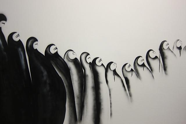 Imagen de la artista Sarah Al Abdali