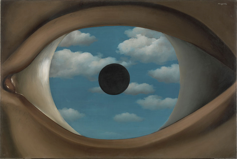 Magritte - False Mirroir