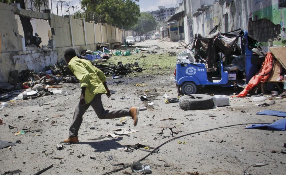 Atentado a oficinas del gobierno en Somalia por parte de Al-Shabab