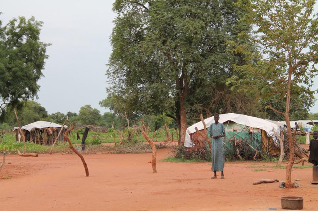 Campo de refugiados de Yirol (Sudán del Sur) CC Medici con l'Africa Cuamm