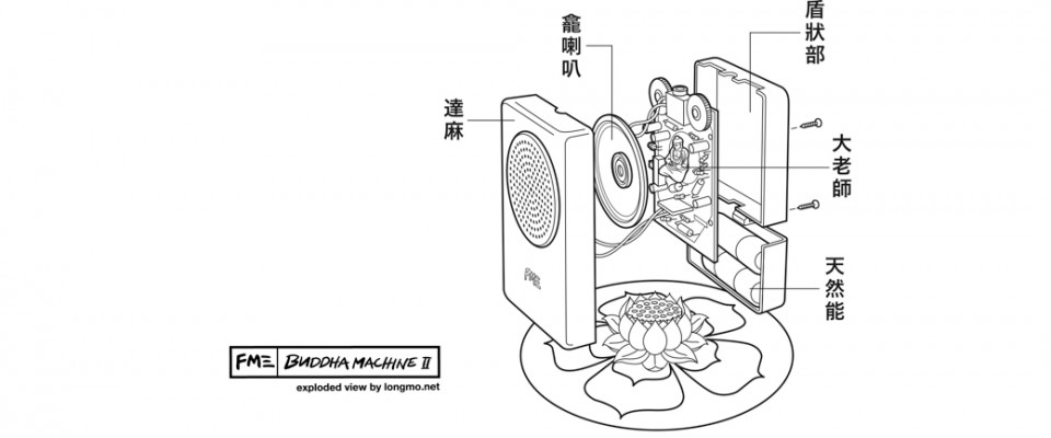 Buddha Machines de FM3